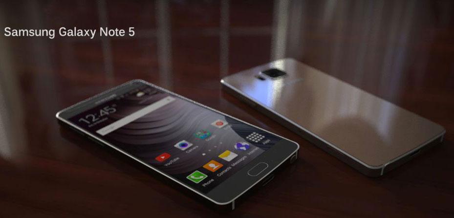 Il Galaxy Note 5 non avrà lo slot MicroSD