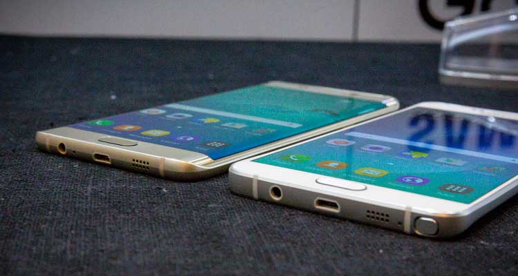 Samsung Galaxy Note 5 e S6 Edge Plus