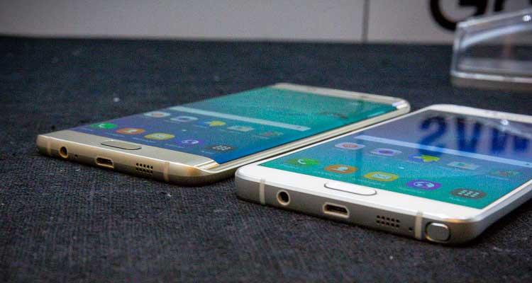 Samsung Galaxy Note 5 e S6 Edge Plus