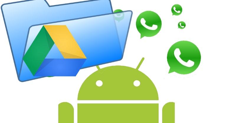 backup android su google drive